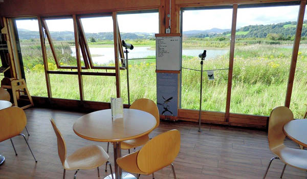 RSPB Conwy Nature Reserve Cafe venue for the 2nd meeting